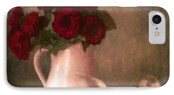 Le Spectre De La Rose IPhone Case by Georgiana Romanovna