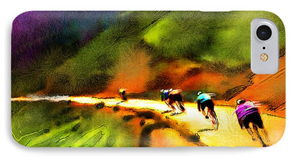 Le Tour De France 02 IPhone Case