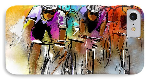 Le Tour De France 03 IPhone Case