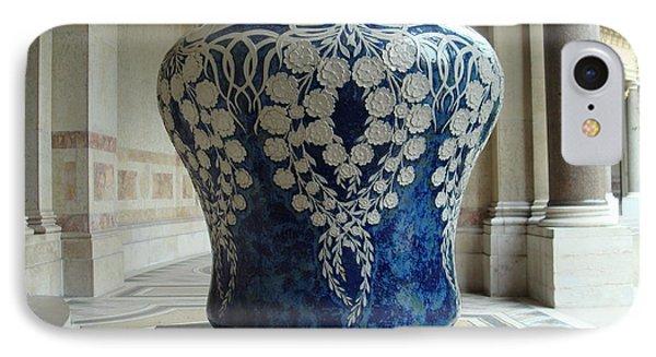 Le Vase Bleu IPhone Case by Kay Gilley