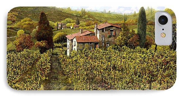 Le Vigne Toscane Phone Case by Guido Borelli