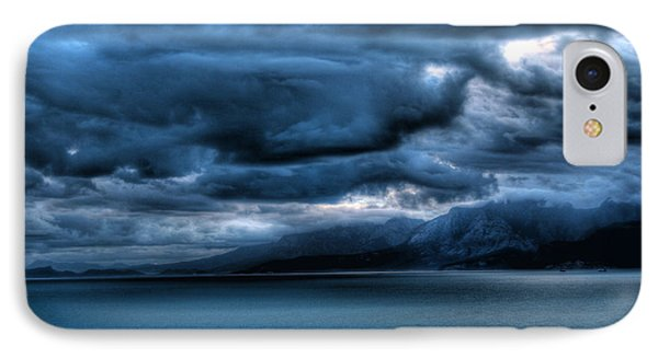 IPhone Case featuring the photograph Leaden Clouds by Erhan OZBIYIK