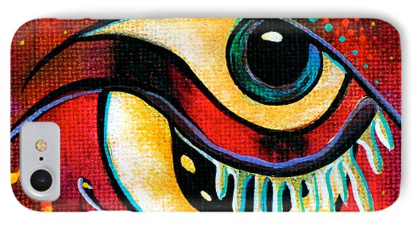 Leadership Spirit Eye IPhone Case by Deborha Kerr