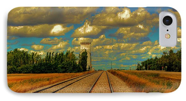 Leading Lines IPhone Case by Larry Trupp