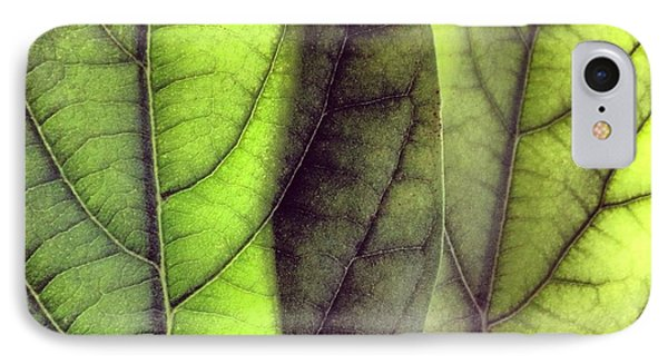 Leaf Abstract IPhone Case by Christy Beckwith