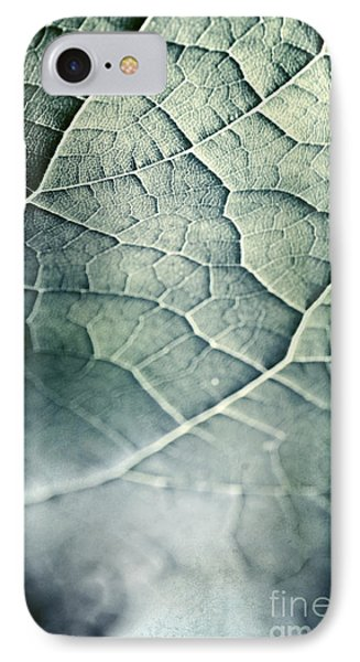 Leaf Abstract IPhone Case by HD Connelly