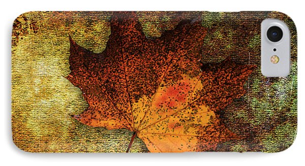 Leaf Abstract IPhone Case by Marvin Blaine