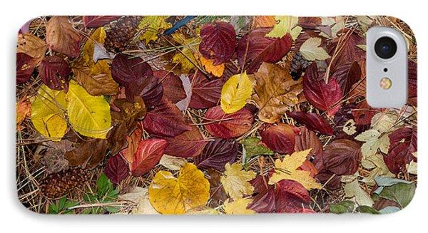 Leaf Confetti IPhone Case