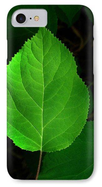 Leaf Glow IPhone Case