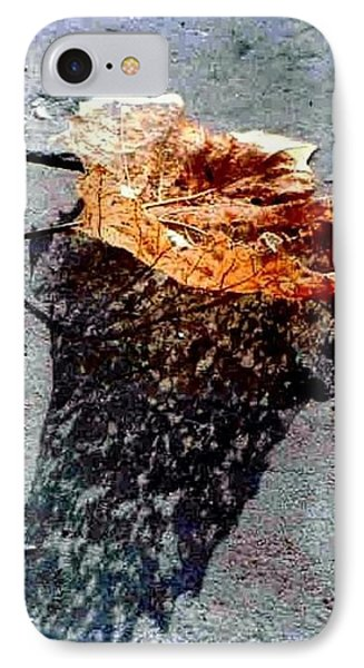 IPhone Case featuring the photograph Leaf Lace In New Orleans Louisiana by Michael Hoard