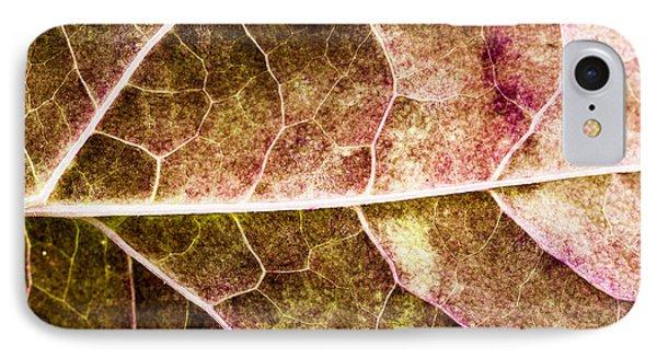 Leaf Lines Phone Case by Christine Smart