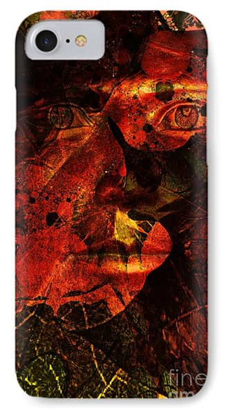 Leaf Man Phone Case by Elizabeth McTaggart