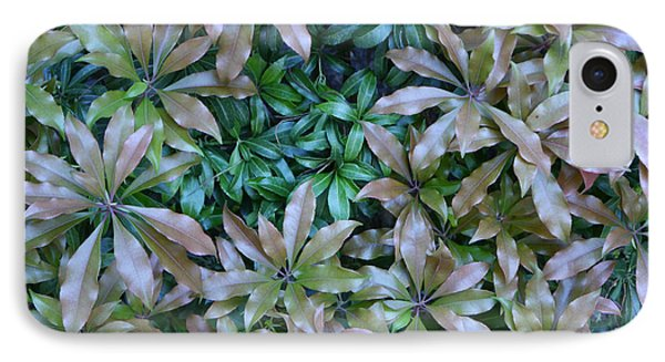 IPhone Case featuring the photograph Leaf Profusion by Winifred Butler