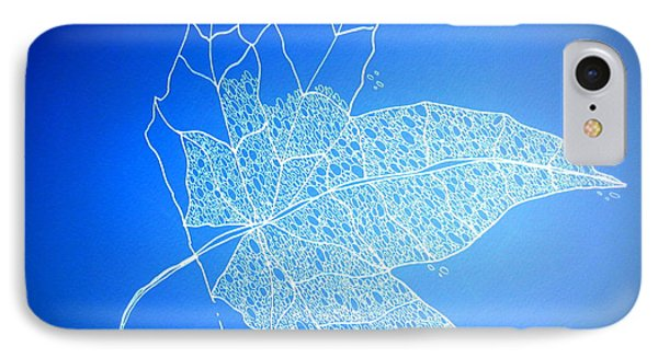Leaf Study 1 IPhone Case by Cathy Jacobs