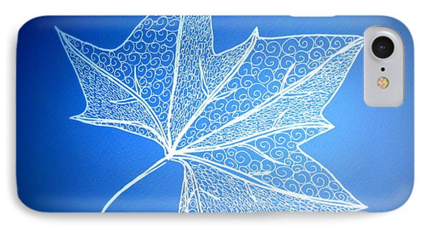 Leaf Study 2 IPhone Case by Cathy Jacobs