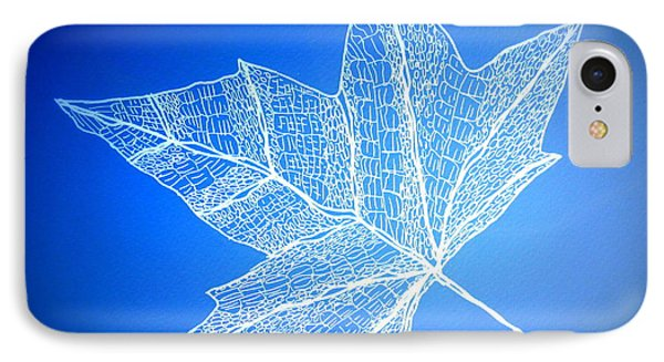 Leaf Study 3 IPhone Case by Cathy Jacobs