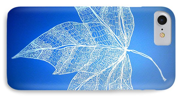 Leaf Study 5 IPhone Case by Cathy Jacobs
