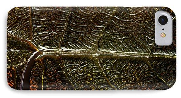 Leafage IPhone Case by Richard Thomas