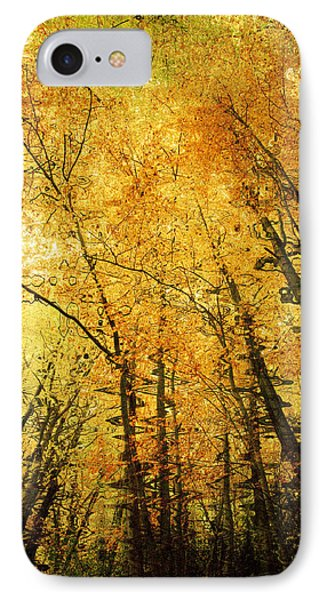 Leafy Canopy Iv Phone Case by Natalie Kinnear
