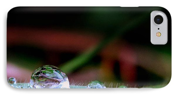 IPhone Case featuring the photograph Leafy Drop by Suzy Piatt