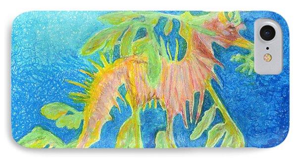 Leafy Seadragon Phone Case by Tanya Hamell