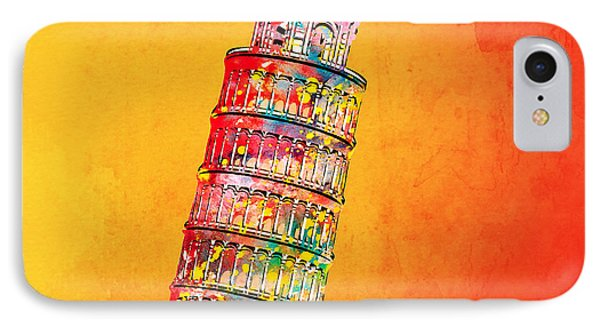 Leaning Tower Phone Case by Mark Ashkenazi