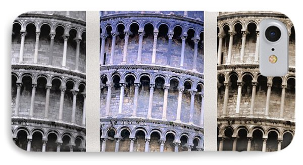 Leaning Tower Of Pisa IPhone Case by Carson Ganci