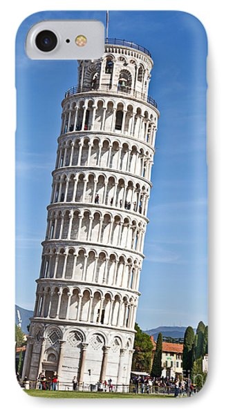 Leaning Tower Of Pisa IPhone Case by Liz Leyden