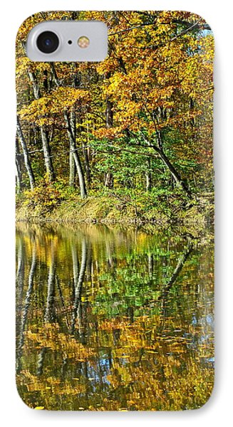 Leaning Trees Phone Case by Frozen in Time Fine Art Photography