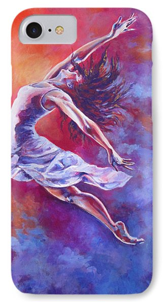 Leap Of Faith IPhone Case by Tamer and Cindy Elsharouni