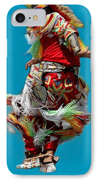 Leaping Into The Air Phone Case by Kathleen Struckle