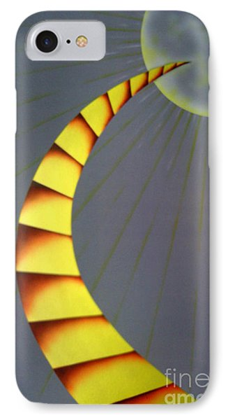 Learning Curve IPhone Case by Kenneth Clarke