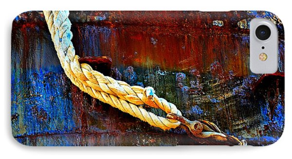 Learning The Ropes Phone Case by Lauren Leigh Hunter Fine Art Photography