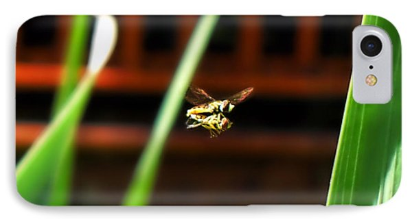 IPhone Case featuring the photograph Leave No Bee Behind by Thomas Woolworth