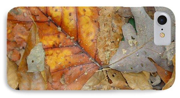 Leaves Phone Case by Glenn Calloway