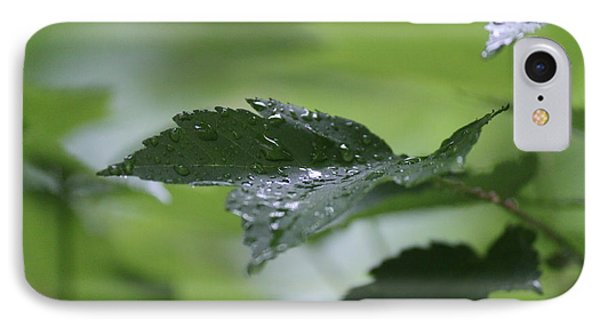 Leaves In The Rain IPhone Case