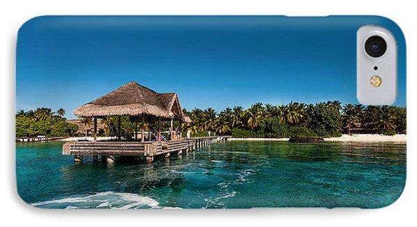 Leaving Kuramathi Resort. Maldives Phone Case by Jenny Rainbow