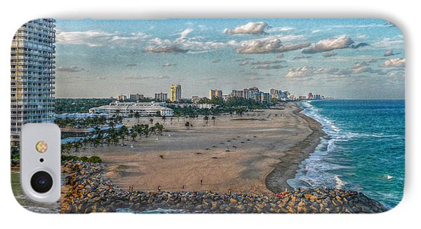 Leaving Port Everglades IPhone Case by Hanny Heim