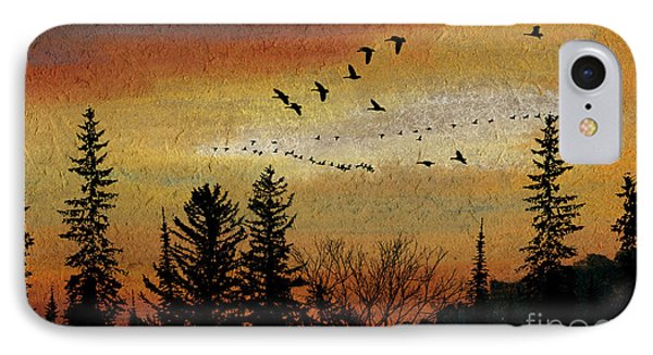 Leaving The North Behind IPhone Case by R Kyllo