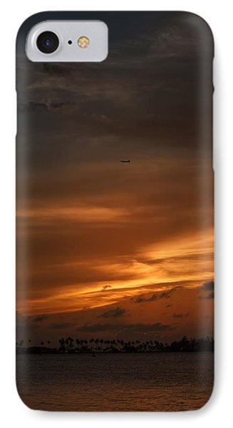 Leaving The Paradise  IPhone Case by Mario Celzner