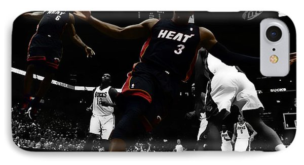 Lebron And D Wade Showtime IPhone Case
