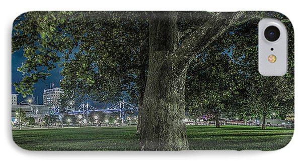 Leclaire Park IPhone Case by Ray Congrove