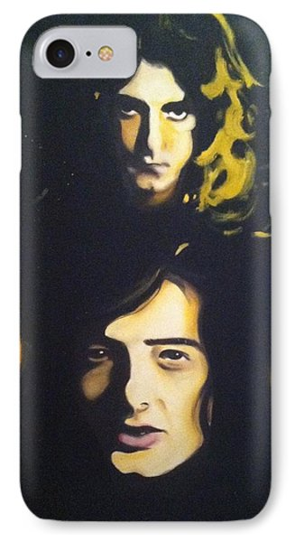 Led Zeppelin IPhone Case by Matt Burke