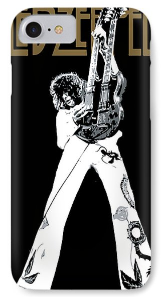 Led Zeppelin No.06 IPhone Case by Caio Caldas