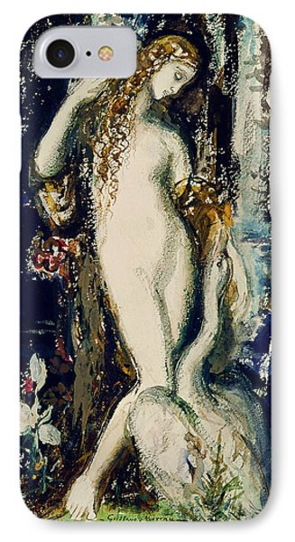 Leda  IPhone Case by Gustave Moreau