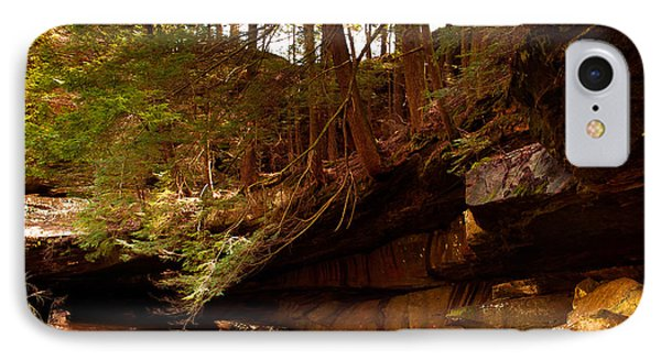 IPhone Case featuring the photograph Ledges Of Cedar Falls by Haren Images- Kriss Haren