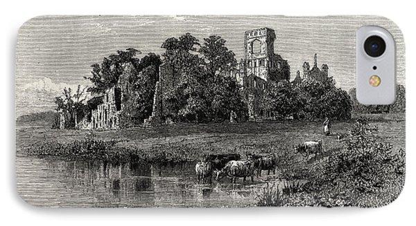 Leeds, Kirkstall Abbey IPhone Case