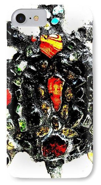 Leeky Turtle Phone Case by Lisa Brandel