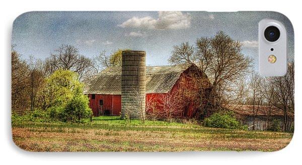 Lee's Old Barn IPhone Case by Pamela Baker