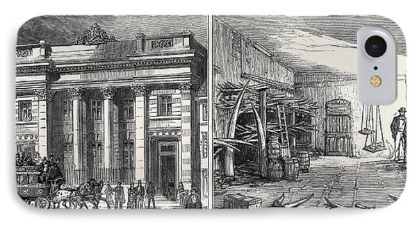 Left Image The Cutlers Hall IPhone Case by English School